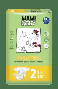 Balení plenek Muumi Baby Mini 2
