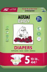 Balení plenek Muumi Baby Maxi Plus 5