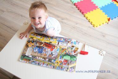 5 knih o autech a dopravě pro dvouleté kluky