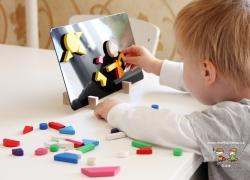 Vzpomínka na dětství: Magnetické puzzle Detoa