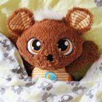 Plyšová hračka pro děti na spaní hajánek schlafmützen nici
