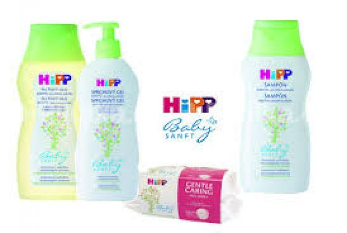 Hipp Babysanft kompletní nabídka produktů