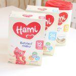 recenze kojenecké mléko Hami 12+ Hami 0+ Hami 24+
