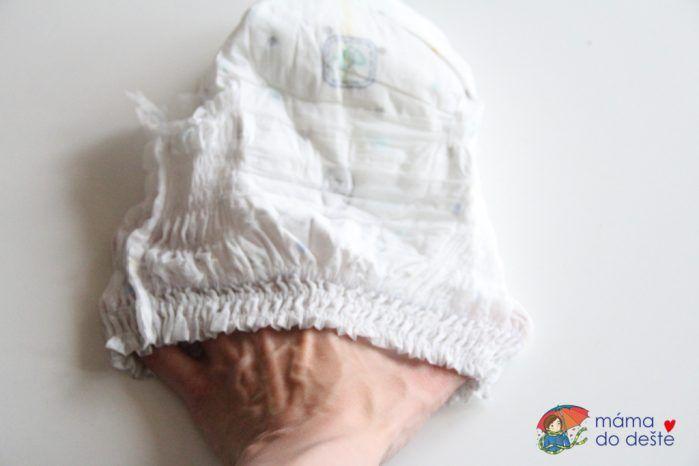 Pampers Pants Premium Care: Gumičky v pase