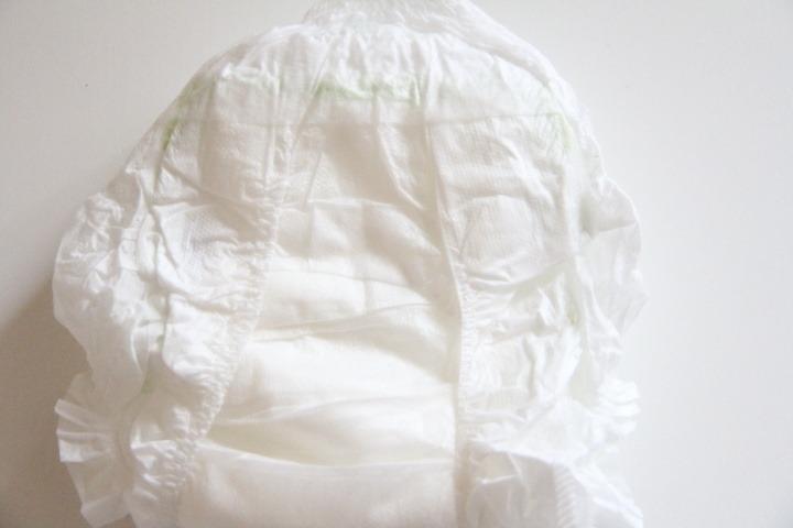 Muumi Baby Walkers - vnitřní strana plenkových kalhotek