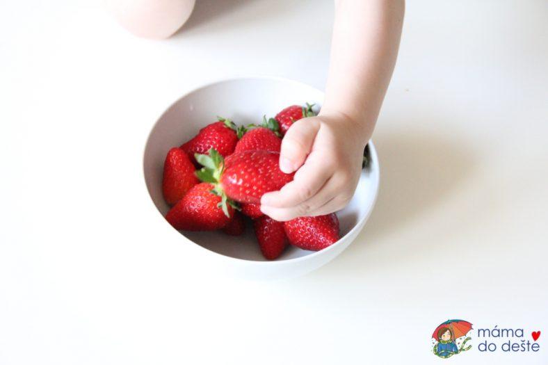 Ovoce pro kojence příkrmy