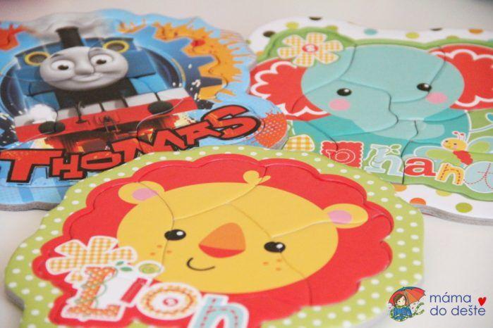 Puzzle pro dvouleté děti