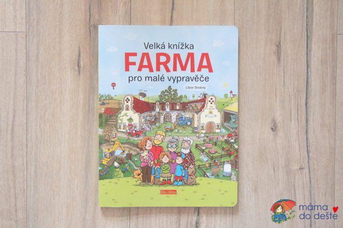 Velká kniha farma pro malé vypravěče