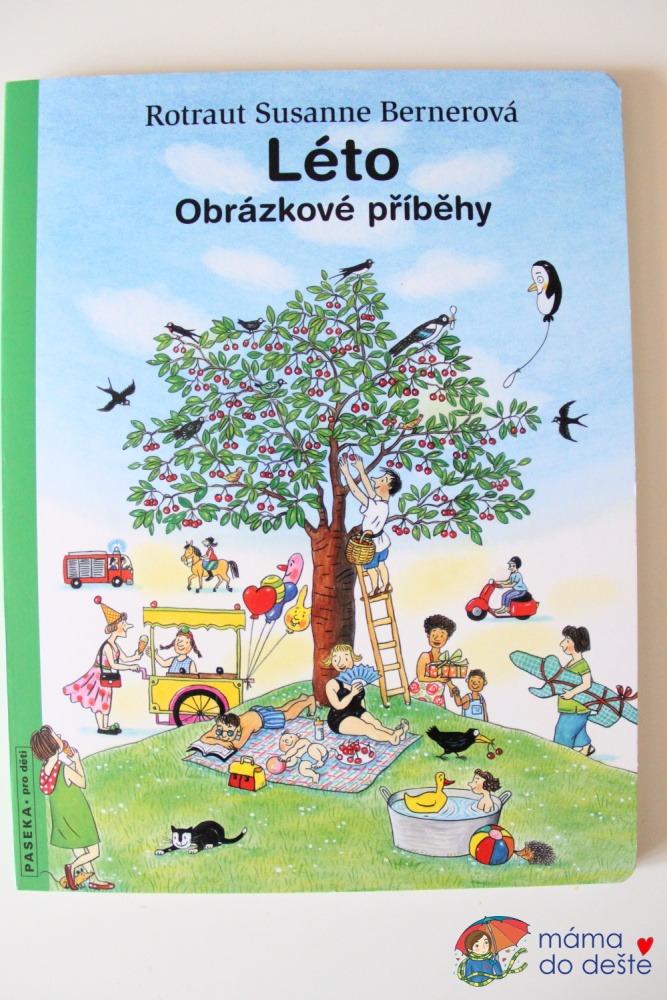 Kniha Léto - přední strana