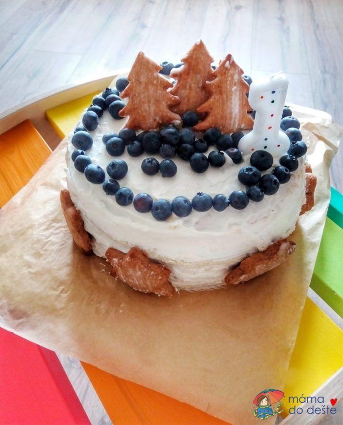 Dort k prvním narozeninám: Zvolila jsem klasickou velikost, žádný malinký dortík.