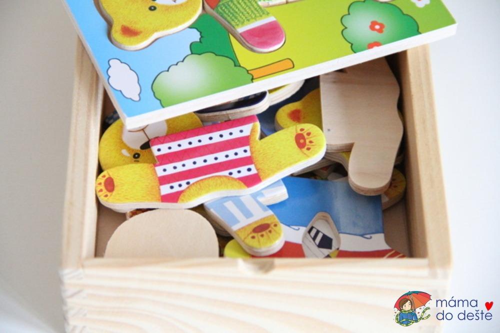 Woody šatní skříň medvídek: Co je uvnitř?