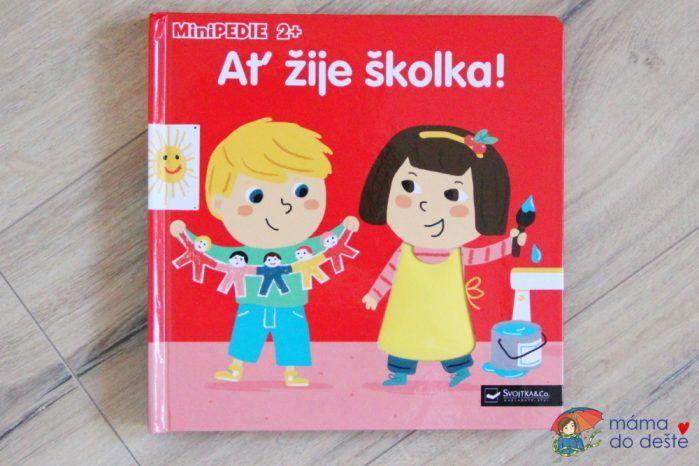 Ať žije školka: Obálka knihy.
