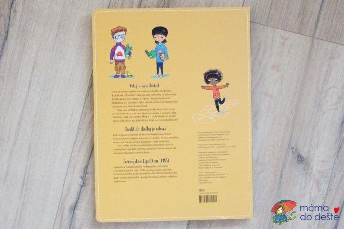 Rok ve školce: Obálka knihy.