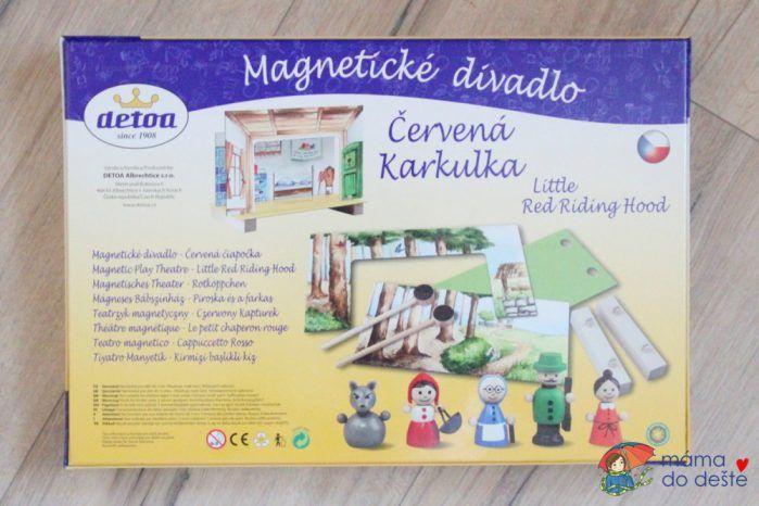 Magnetické divadlo Detoa: Červená Karkulka.