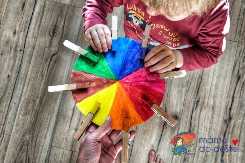 montessori barevne spektrum