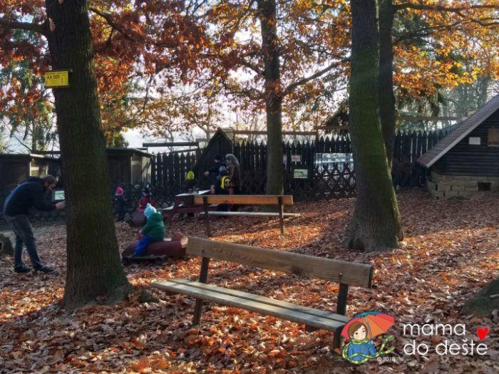 ZOO v Chuchelském háji: Dětské hřiště.
