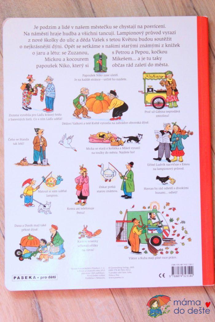 Recenze dětské knihy Podzim - Obrázkové příběhy (R.S.Berner)