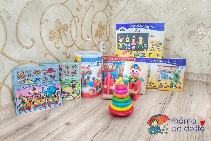 Hračky pro holčičku 4 roky