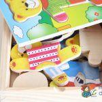 Woody šatní skříň medvídek