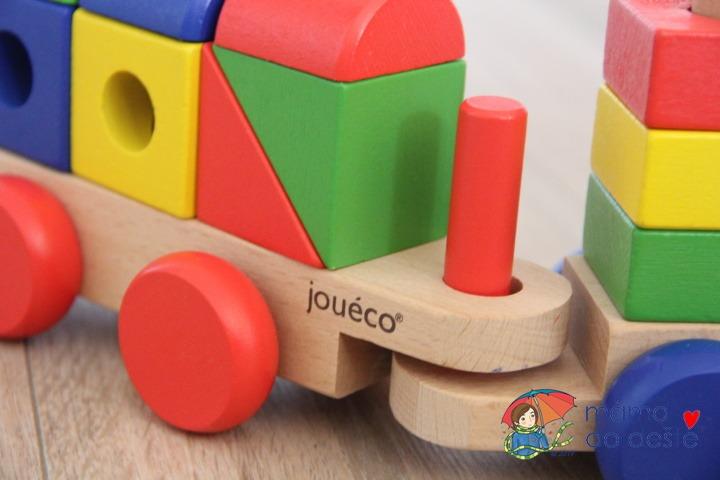 Dřevěná mašinka Jouéco