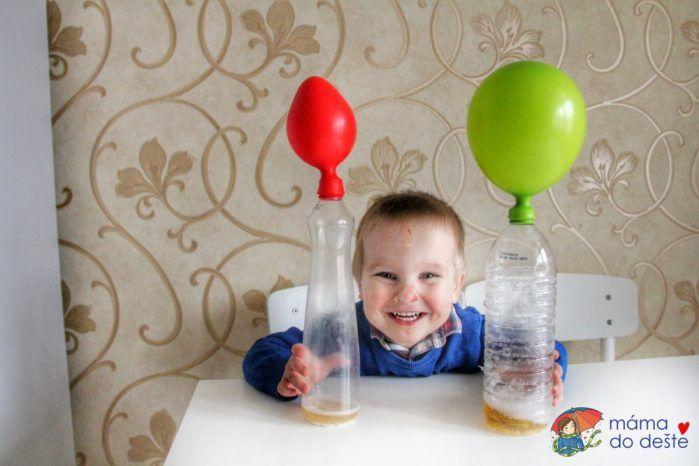 Pokus s balónky