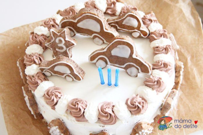 Jak upéct dort pro děti bez éček zdravě