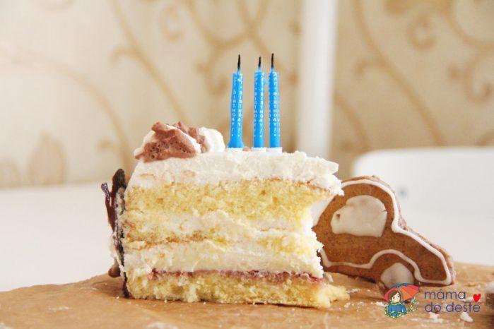 Jak upéct dort pro děti bez éček zdravě - poslední kousek