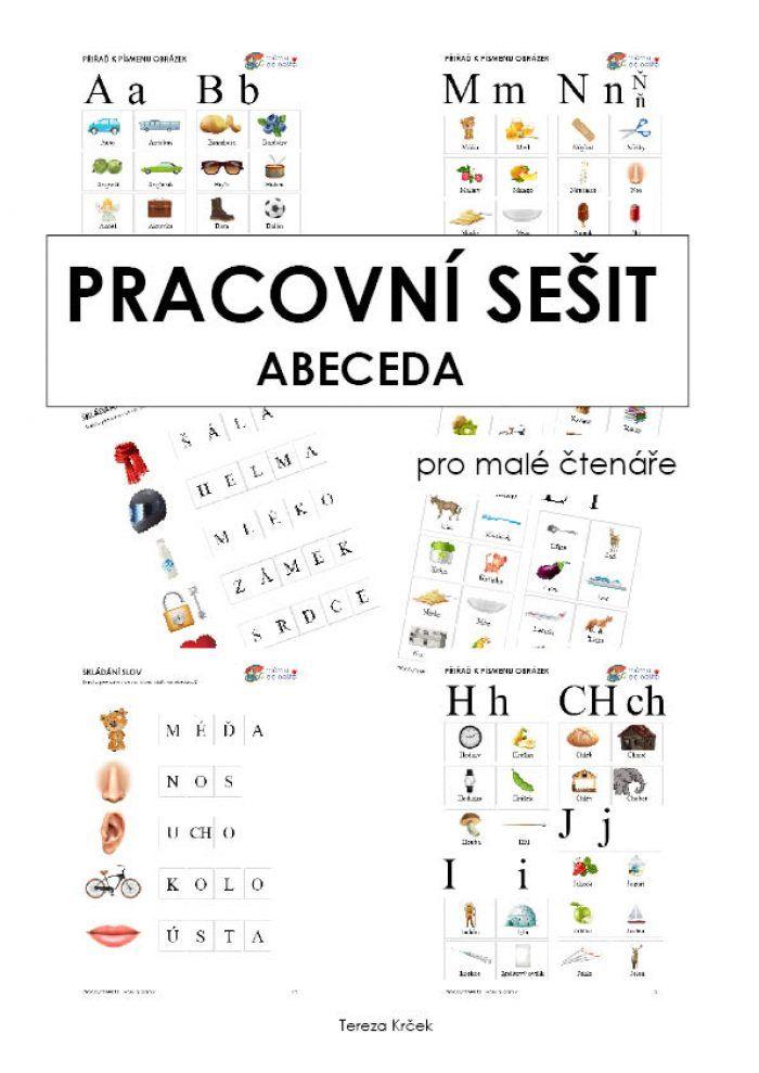Pracovní sešit abeceda za 75 Kč v PDF