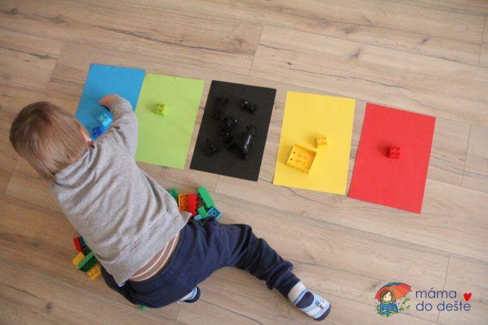 DUPLO a barevné papíry