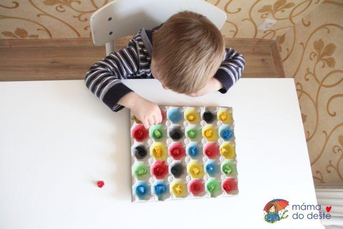 Hra č. 1(třídění kuliček)