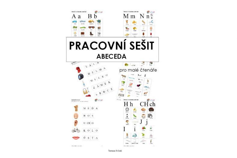 Pracovní sešit abeceda