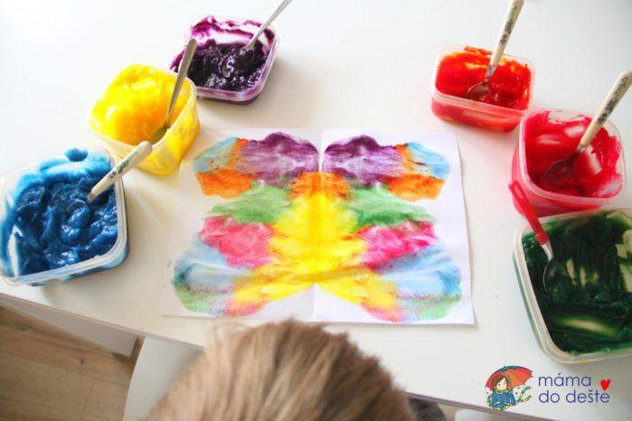Domácí prstové barvy DIY