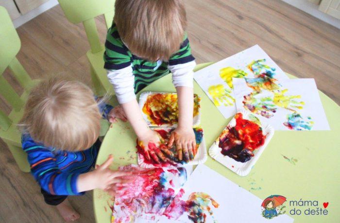 Tvoření pro děti do dvou let