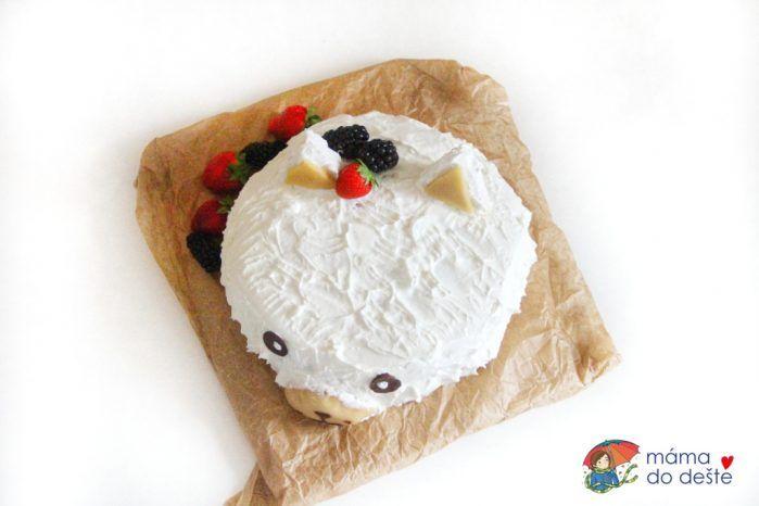 Kočko-Medvěd: Dětský dort recept