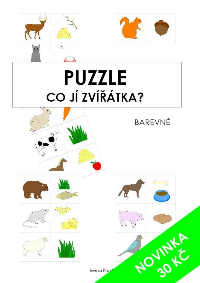 Puzzle co ji zviratka