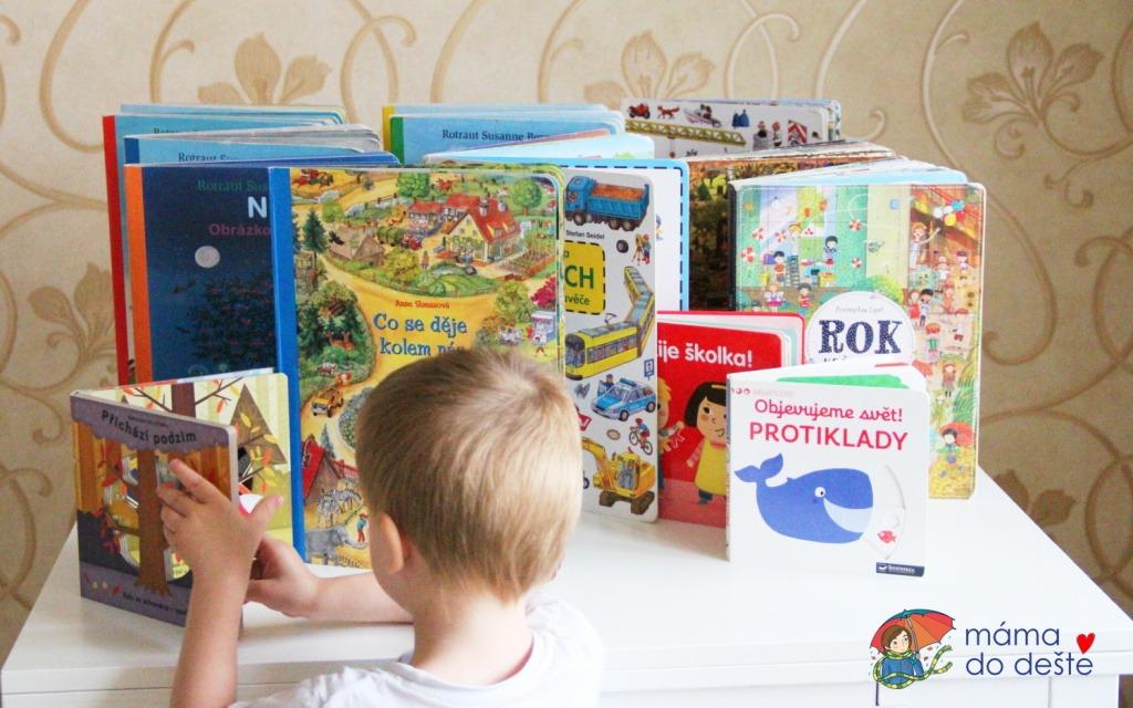 10 tipů na knihy pro dvouleté a tříleté děti (vazba leporelo