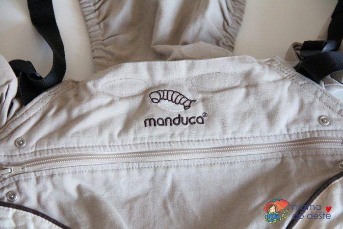 Nosítko Manduca: Rozepínání zádové opěrky