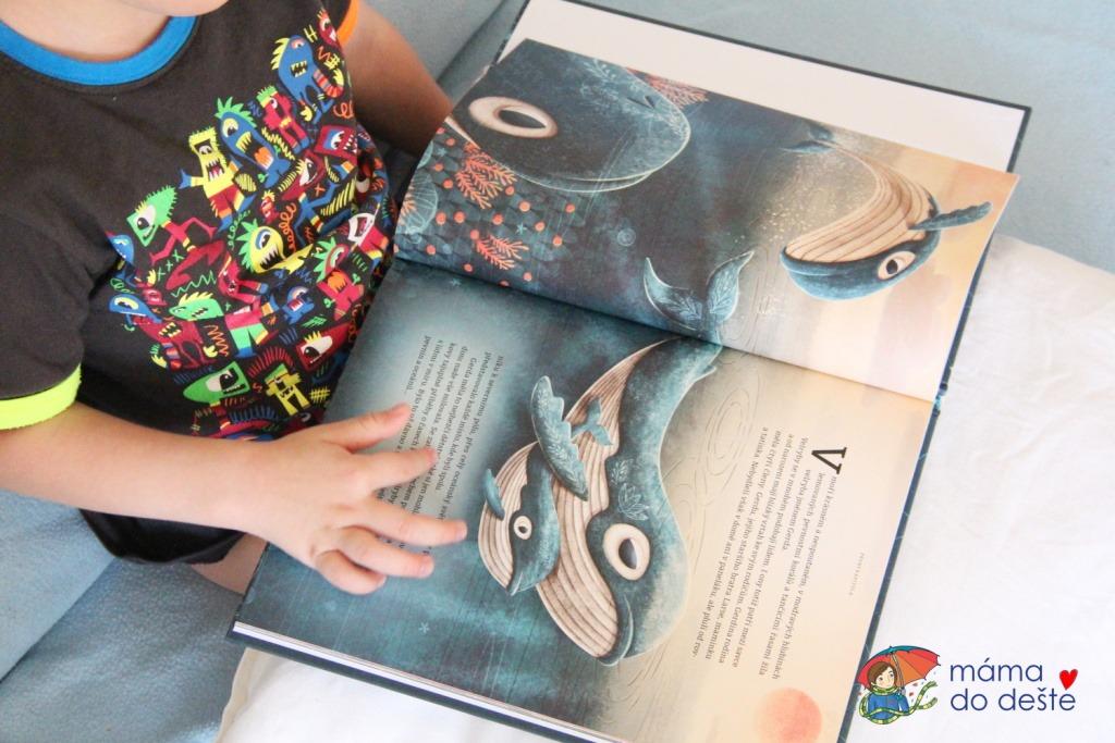 Recenze knihy Gerda, příběh velryby