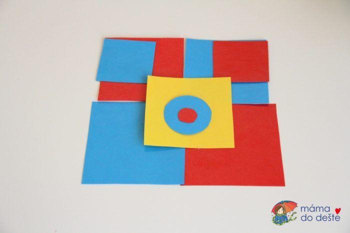 Vrstvení a skládání tvarů