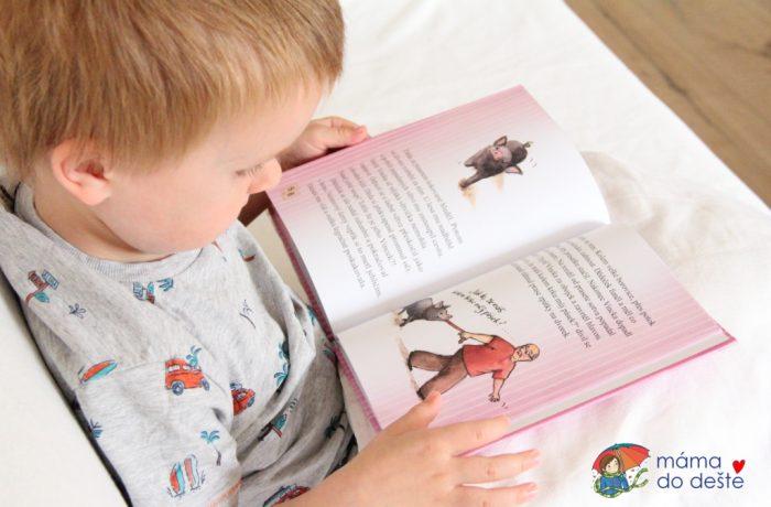 Dětská knížka Malá Ema