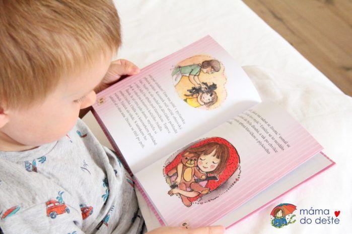 Malá Ema: roztomilé ilustrace krásně doplňují vtipný příběh.