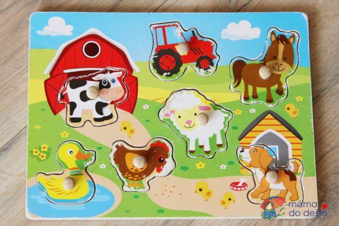 Puzzle pro děti od 1,5 roku