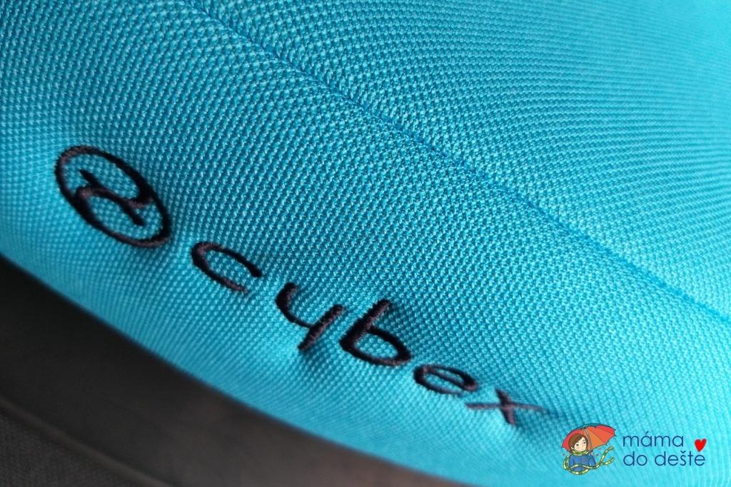 Cybex Pallas Fix: Detail na látku na autosedačce