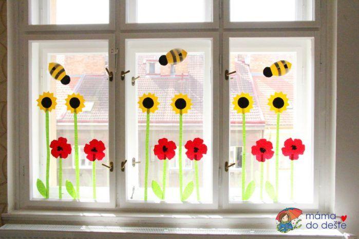 Dekorace na oknech