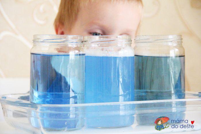 Naše experimenty: Tři pokusy s vodou pro nejmenší