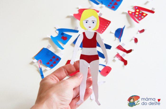 Papírové oblékací panenky