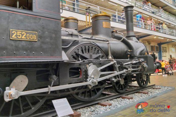Národní technické muzeum - expozice Doprava