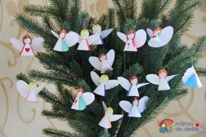 Vánoční andělíčci