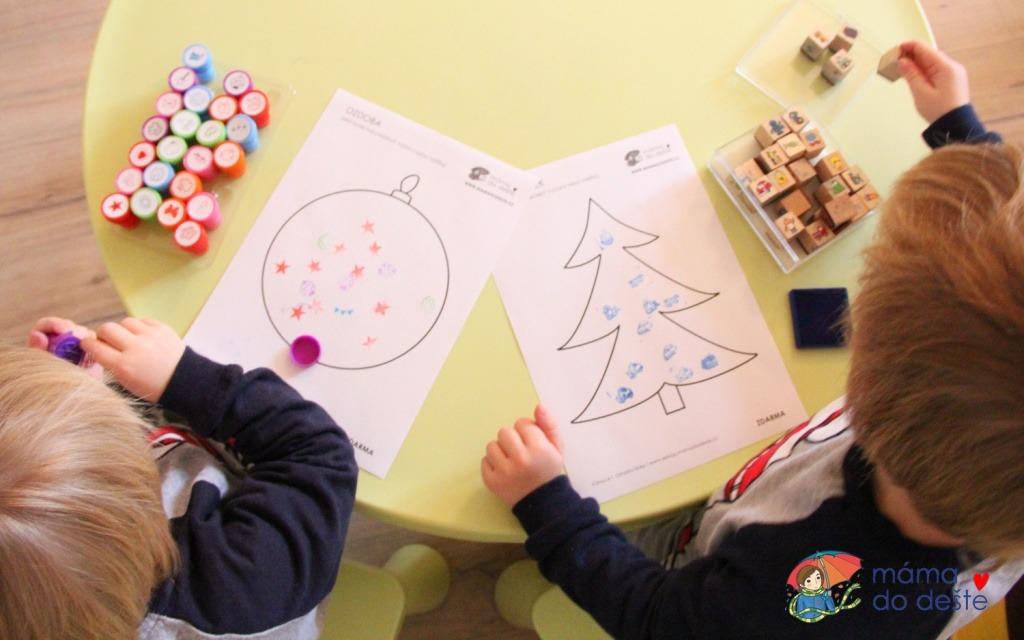 Vánoční omalovánky zdarma: Tipy, jak si užít předvánoční čas s dětmi