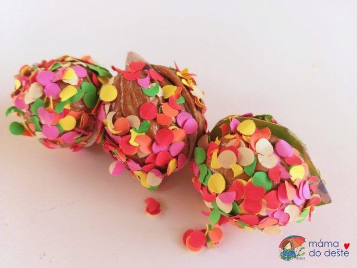 Ořechy obalené v konfitech